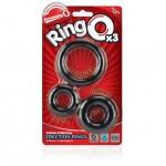 Screaming O RingO's x 3 (Black)